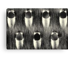 Cheese Grater Monochrome Art Print Canvas Print