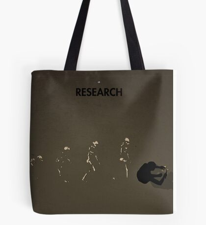 99 Steps of Progress - Research Tote Bag