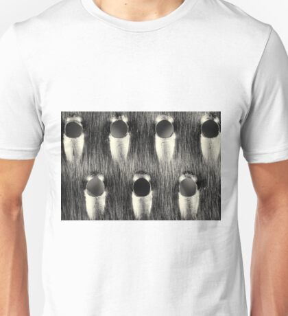 Cheese Grater Monochrome Art Print Unisex T-Shirt