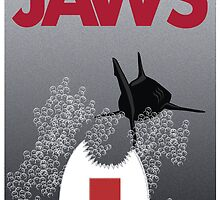 Jaws Remastered by scribblechap