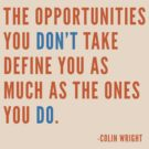 Opportunities by Colin Wright