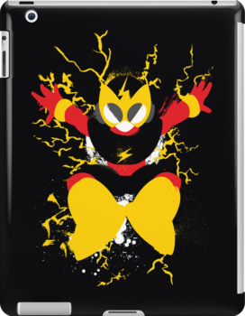 Elec Man Splattery Design by thedailyrobot
