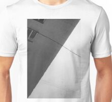 Monochrome Building Abstract 1 Unisex T-Shirt