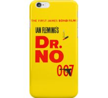 Dr No iPhone Case/Skin