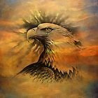 iPad Case-Bald Eagle by Pamela Phelps