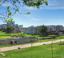 CASTLE, El CASTILLO, TULUM by Joe Powell
