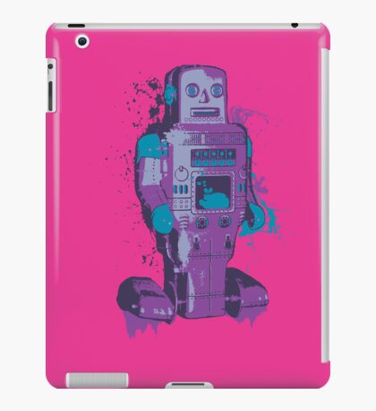Purple Toy Robot Splattery Shirt or iPhone Case iPad Case/Skin