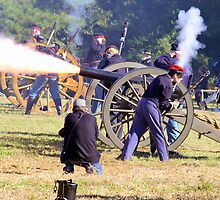 The Battle Of Sucessionville As the Canon went off by imagetj