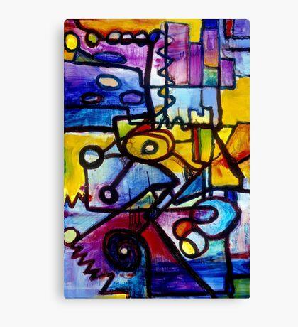 Suburban Beat Canvas Print