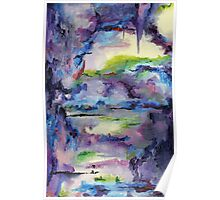 Cave Painting, Abstract oil on Canvas Poster