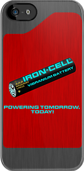Iron-Cell - Vibranium Battery by amanoxford