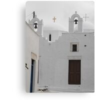 Greek Island Church 1 Canvas Print