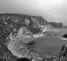 Man o War Bay - Dorset by Matt Stonier