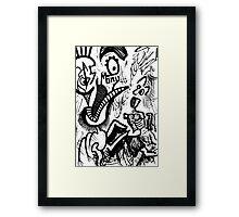 041 Framed Print