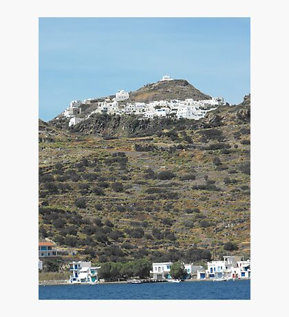 Greek island  Photographic Print