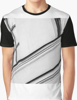 Monochrome Building Abstract 5 Graphic T-Shirt