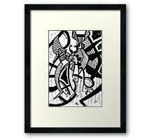 044 Framed Print