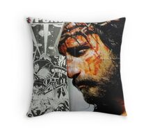 Punk crown of thorns Throw Pillow