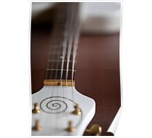 Guitar Glancing Poster