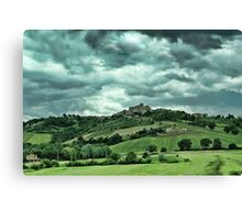 Tuscany Valley Canvas Print