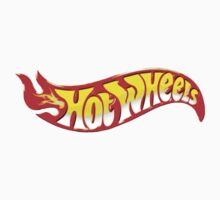 Hot Wheels Logo Kids Clothes