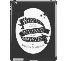 Weasleys' Wizard Wheezes (iPad) iPad Case/Skin