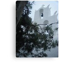 Greek Island Church 4 Canvas Print
