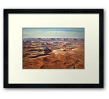 Canyonlands Framed Print