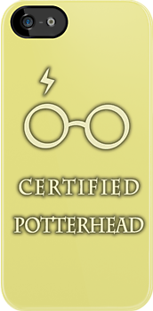 Certified Potterhead (Yellow) by thegadzooks