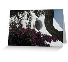 Greek Island Church 5 Greeting Card