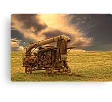 Yesterday's Farm Equipment Canvas Print