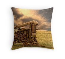 Yesterday's Farm Equipment Throw Pillow