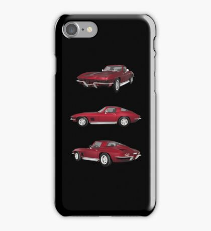 Candy Apple 1967 Corvette Stingray iPhone Case/Skin