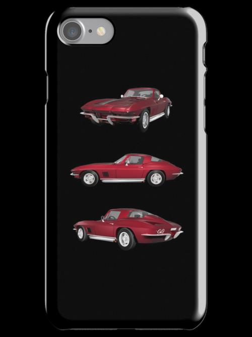 Candy Apple 1967 Corvette Stingray by bradyarnold