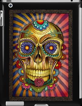 Skully Ipad Case by Psycheart