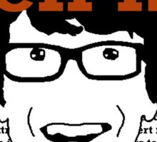 Who the eff is Hank? Sticker