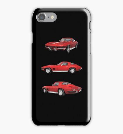 Red 1967 Corvette Stingray iPhone Case/Skin