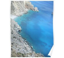 Amorgos Greek Island Spectacular View Poster