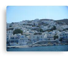 Greek Island 1 Canvas Print