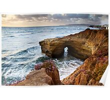 Sunset Cliffs San Diego Poster