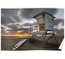 Mission Beach Rescue - San Diego Poster
