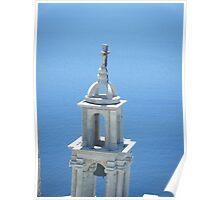 Greek Island Church in Samos 3 Poster