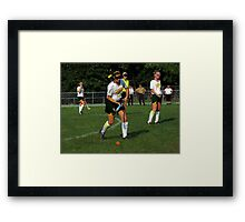 090212 140 0 p & ink field hockey Framed Print