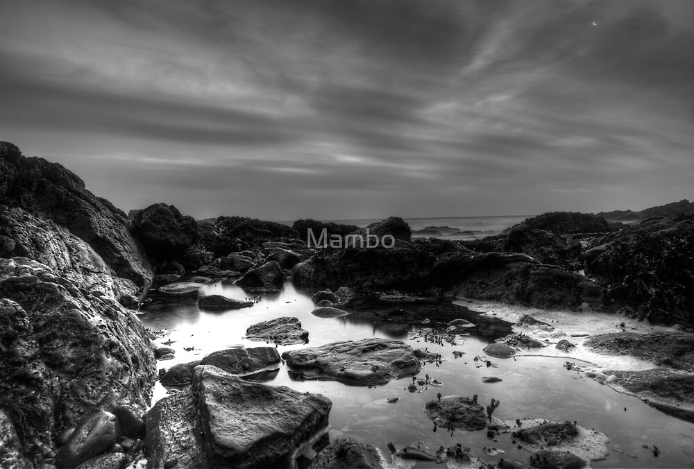 Sunrise on the beach by Mambo
