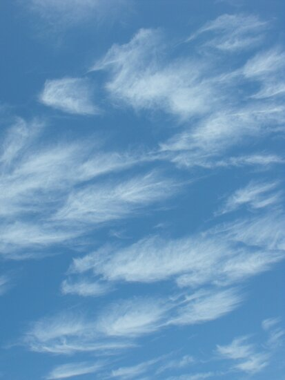 Fluffy clouds in the sky by SlavicaB