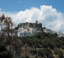 Patmos Island St John Monastery by SlavicaB
