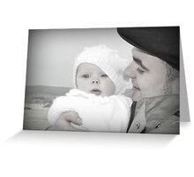 Devoted Farther Greeting Card