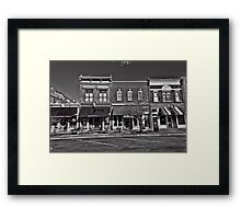 Two-Bit Street  Welcome Framed Print