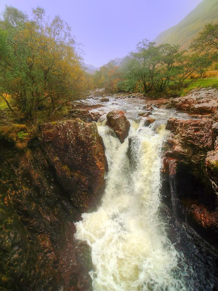 Lower Falls, Glen Nevis by Stephen Frost