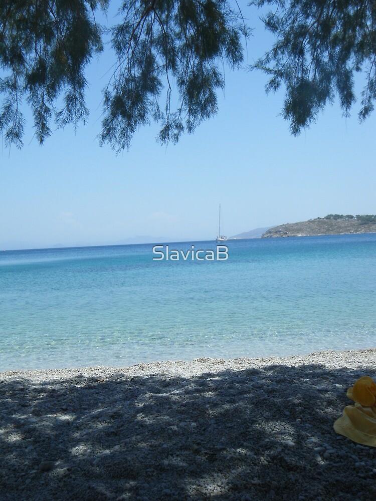 Greek Island Beach Patmos by SlavicaB